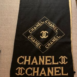 Vintage Chanel Fashion Scarf
